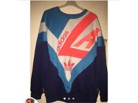Unisex retro adidas sweatshirt