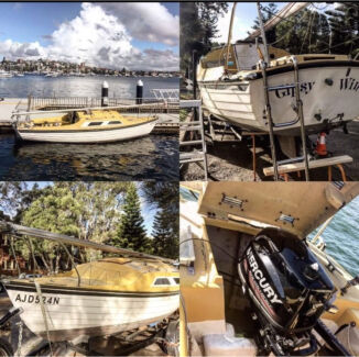 Sailing boat on sales 22 ft Avalon Pittwater Area Preview