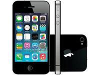 Black iPhone 4s 16gb open to all networks