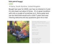 Kids buggy/go kart/quad