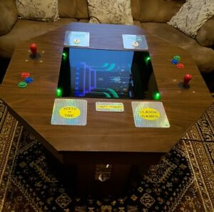 ARCADE TABLE GAME - VINTAGE CABINET