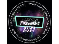 HARROW FIREWORKS DISPLAY, SATURDAY 6TH NOVEMBER 2021