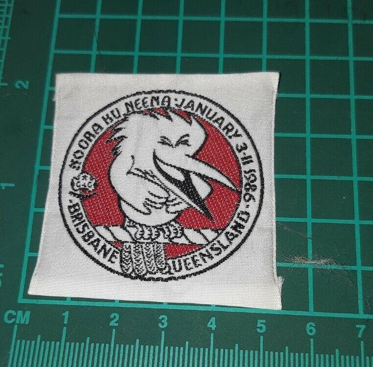 Moora Ku Neena 1986 Quensland Girl Guide Badge