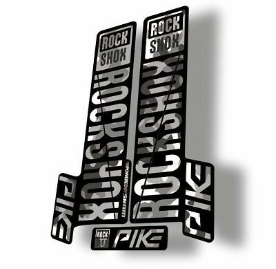 Rock Shox REVELATION 2012 Mountain Bike Cycling Decal Sticker Adhesiv Oil Slick1