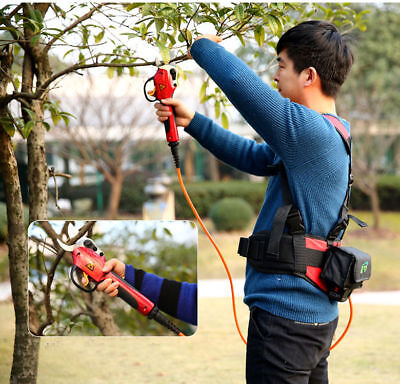 New 220V 3cm Electric chargeable fruit tree branch cutter Pruning Shears Snips