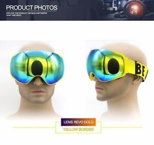 (Save 20% YEE1SFSCS0H2) Professional brand ski goggles double lens anti-fog UV400