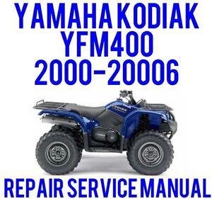 yamaha kodiak 450 owners manual free owners manual u2022 rh wordworksbysea com Yamaha Grizzly 450 Specs 04 Yamaha Grizzly 450 4x4