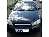 Chevrolet lacetti 1.6, 8 months MOT, electric windows. Pas. Good condition for year, low mileage