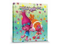 #101112 Bad Hair Day Louise Brown Poster Leinwand-Druck Bild 40x40cm Lamas
