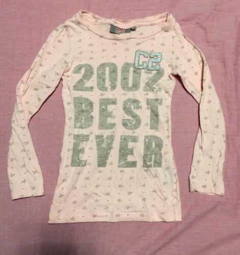 Power Child Shirt T-Shirt Mädchen Kinder Sport Pulli Bluse Große 122 Hell Rosa