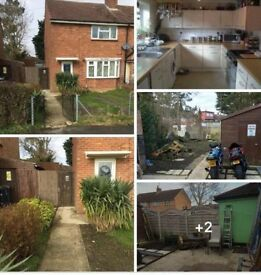 Large 2bedroom semi house rtb (council exchange)