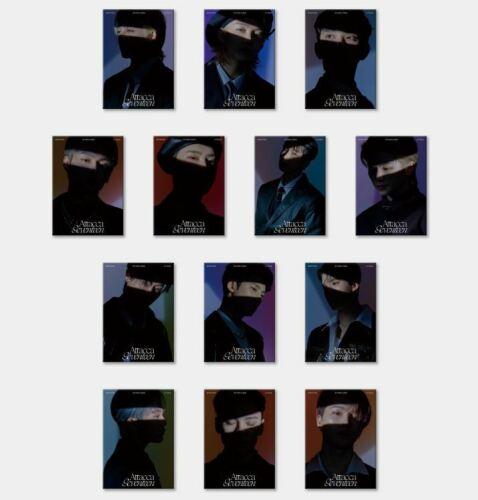 Seventeen [Attacca] 9th Mini Album CARAT Version CD+Booklet+Photocard+Book+Gift