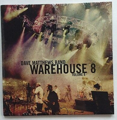 Dave Matthews Band - Warehouse 8 Volume 8 CD Crazy Easy, Halloween Gas Into Fire