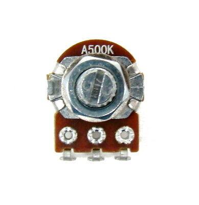 - A500K ohm 16mm Volume Audio Taper Control Potentiometer Guitar Mini Pot