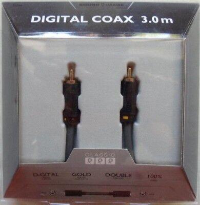 Sound Image Digital Coax 3,0 m Classic Digital Coax Audio / Video...