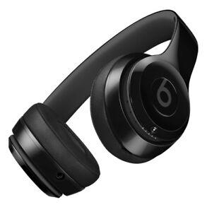 Beats Solo 3 Headphones Matte Black - New Unopened with Receipt