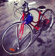 Beautiful, Restored Red Vintage Bicycle Newtown Inner Sydney Preview