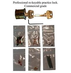 Professional You Build It Practice lock Kit. Commercial Grade, Spool/Serr pin