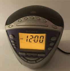 Sony Dream Machine ICF-CD843V CD Alarm Clock Radio