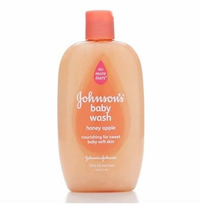 JOHNSON'S Baby Wash, Honey Apple 15 oz