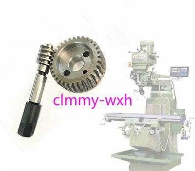 Bridgeport Milling Machine Parts J Head Gear Tilt Turbine Adjustable Worm