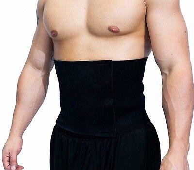 Big Mike's Fitness Waist Trimmer Ab Burner Belt Stomach Body Shaper Wrap - New