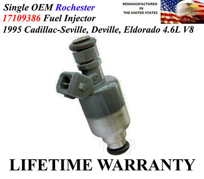 Cadillac Seville Fuel Injector (1X OEM Rochester Fuel Injector For 1995 Cadillac Seville Deville Eldorado 4.6L )