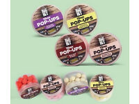 Crafty Catcher. Big Hit 15mm Pop Ups. 35g pots. Various Flavours. Carp Fishing Bait.