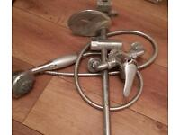 Shower head with mixer tap