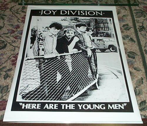 JOY DIVISION Here Are the Young Men Group Vintage Poster