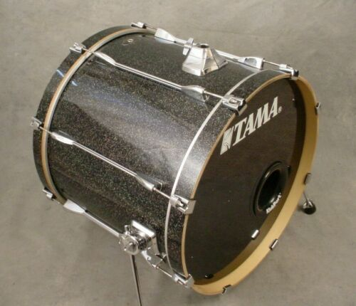 "TAMA SUPERSTAR 22"" BLACK SPARKLE LACQUER BASS DRUM"