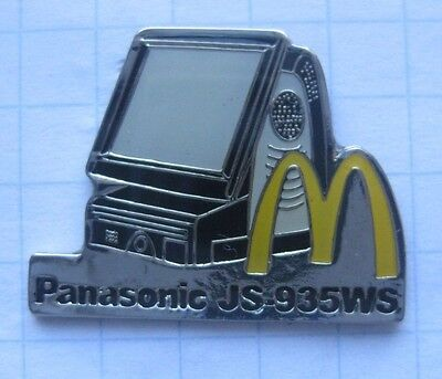 M / PANASONIC JS 935WS / LADENKASSE  .................... Mc Donald´s-Pin (117a)
