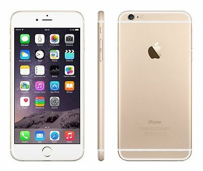 Apple iPhone 6 Plus - 16GB - Gold (Factory Unlocked) GSM, LTE, Warranty, Sealed