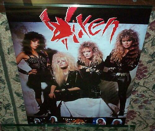 VIXEN Girl Band  80s Original Vintage Group  POSTER