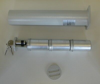 ISS Bodentresor, Rohrtresor, Wandtresor mit 3 Geldbomben