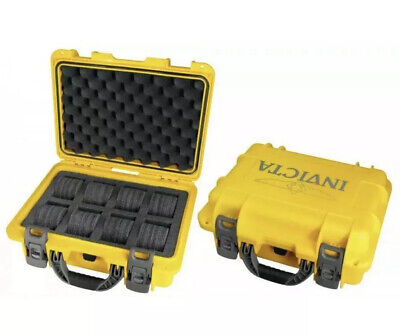 NEW Invicta 8 Slots Impact Diver Original Yellow Impact Resistant Case-RARE