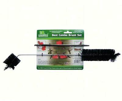 BEST COMBO 4 BRUSH SET FOR CLEANING HUMMINGBIRD FEEDERS                   #dm