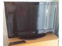 "Alba 32"" LCD TV with remote"