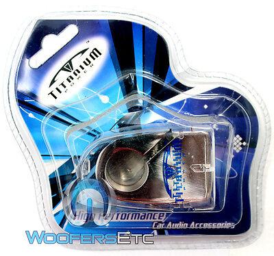 B-15 Titanium Chrome Plated Negative Battery Terminal 4 Gauge 2 8 Gauge In - Out on sale