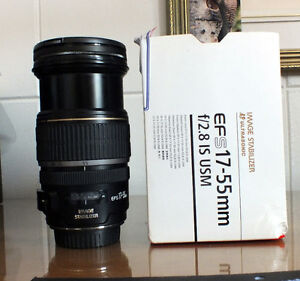 Objectif Canon EFs 17-55mm. f/2.8 IS USM.