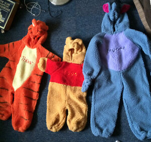 Pooh and friends costumes