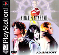 PS1 CONSOLE WITH METAL GEAR SOLID+FINAL FANTASY 8