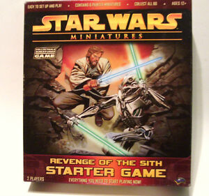 2005 Star Wars Miniatures Revenge of the Sith Starter Game