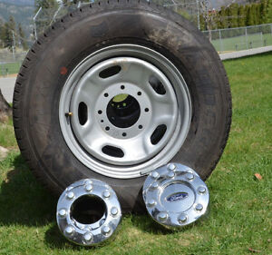 New Ford Superduty rims & new M & S General LT245-75-17 Tires