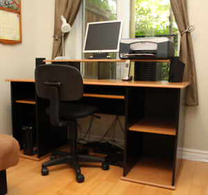 Computer, Printer, Desk and Chair Package!