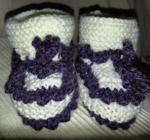 Baby booties/ Chaussons bébé