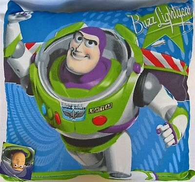 ~ Toy Story - BUZZ LIGHTYEAR CUSHION PILLOW BED BEDROOM *On Sale* ()