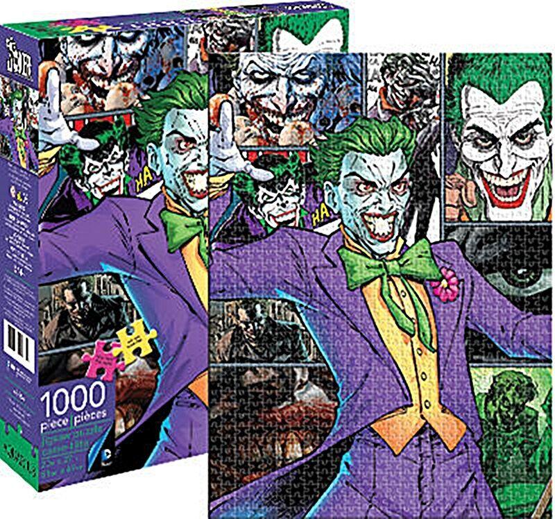 Free Comic Book Day Uk Store Locator: DC Comics Joker (Batman) 1000 Piece Jigsaw Puzzle (nm