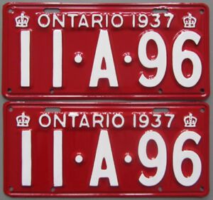 Authentic License Plates For Your Classic - Ministry Guaranteed