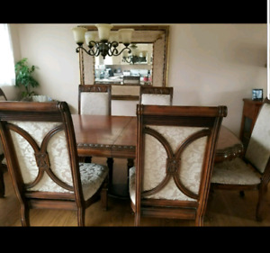 Large Dning Table seats 8 to 10